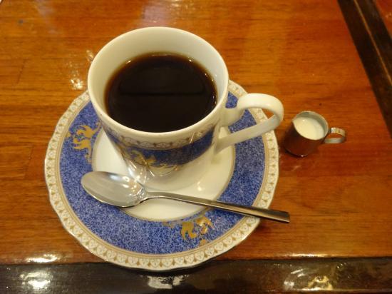 六曜館 ランチコーヒー