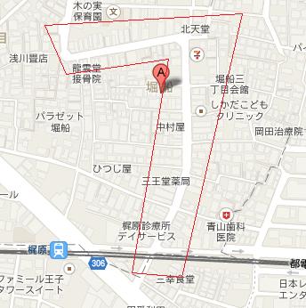 梶原商店街 地図