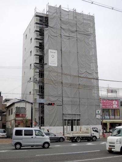 兵庫区・上沢マンション チラリズム