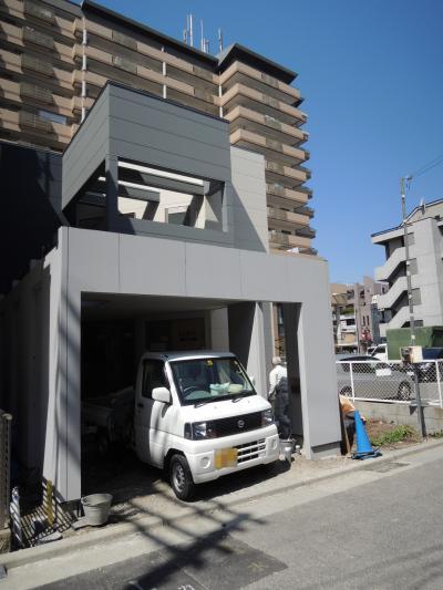 神戸市兵庫区のモノトーンハウス完了検査