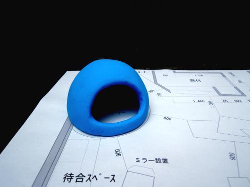 サントリーニ島ドーム屋根の青を超える!!