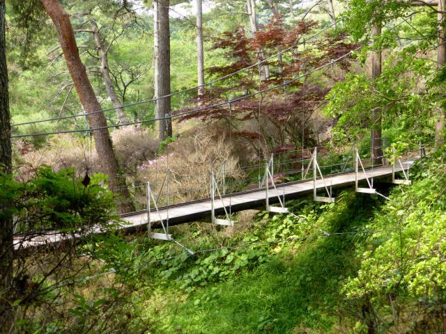 フラワーパーク吊橋3