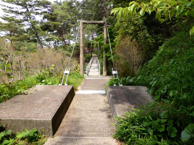 フラワーパーク吊橋5
