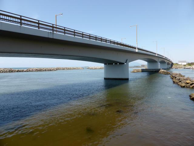 出雲崎夕日ライン橋2