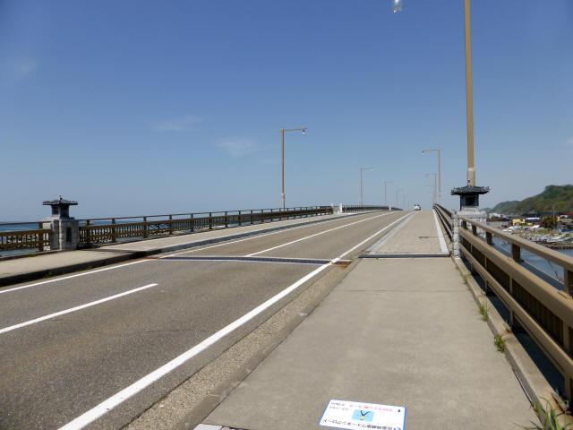 出雲崎夕日ライン橋3