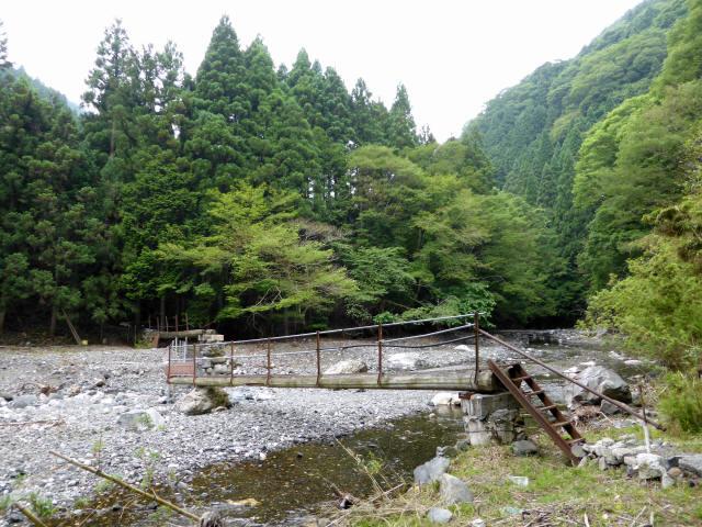 小宮神の流れ橋1