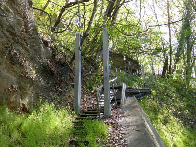 繰矢川沿いの吊橋1