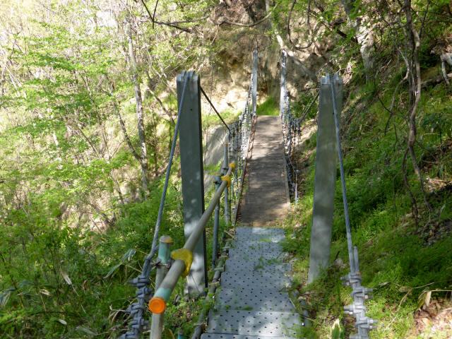 繰矢川沿いの吊橋3