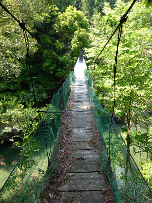 みどり湖の吊橋1