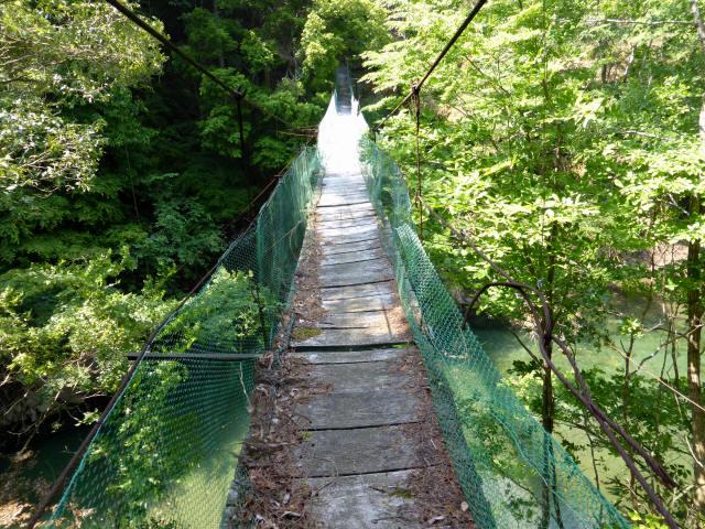 みどり湖の吊橋3