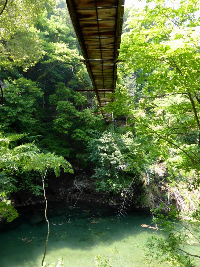 みどり湖の吊橋7