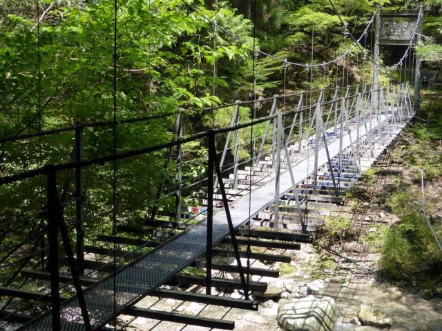 龍王ごんげん吊橋1