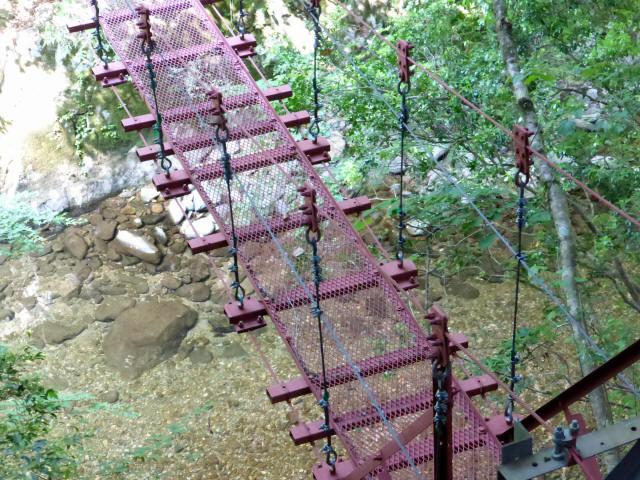 瀬戸淵の吊橋9