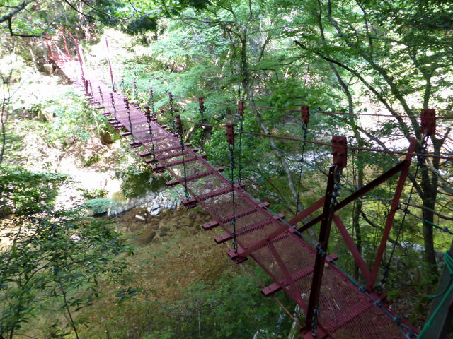 瀬戸淵の吊橋6