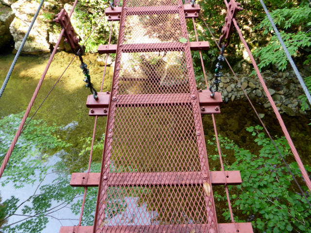 瀬戸淵の吊橋5