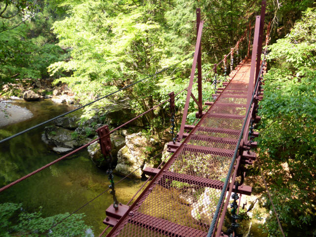 瀬戸淵の吊橋4