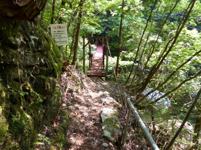 瀬戸淵の吊橋3