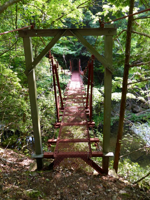 瀬戸淵の吊橋2