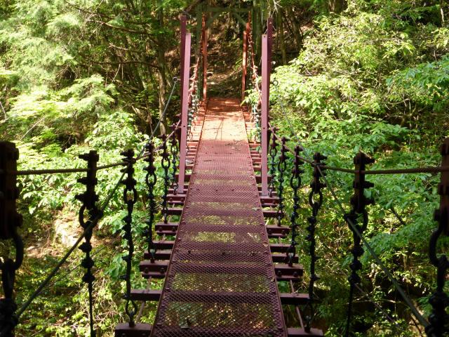 瀬戸淵の吊橋1