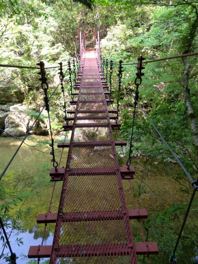 瀬戸淵の吊橋0