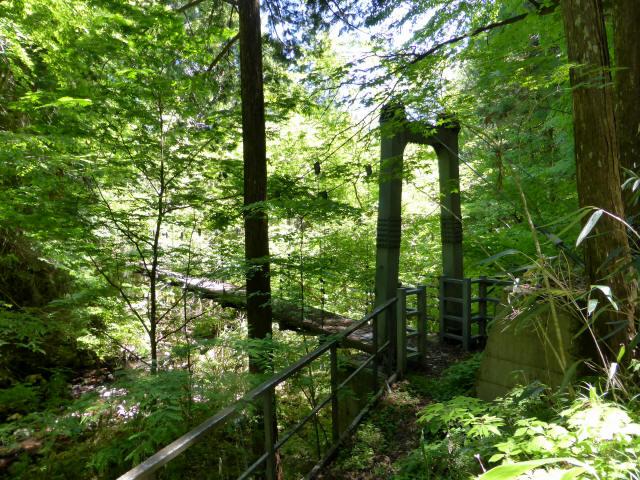 鼓ヶ滝の吊橋5
