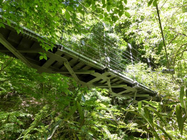 鼓ヶ滝の吊橋4