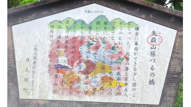 矢嶽山の誤字2