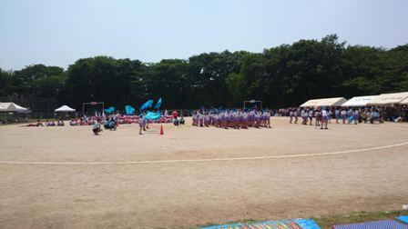 東小学校運動会