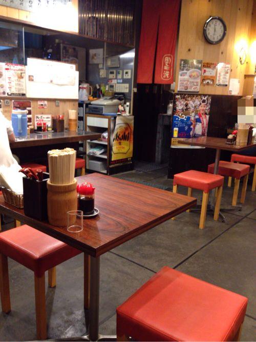 徳島ラーメンふく利 店内の雰囲気
