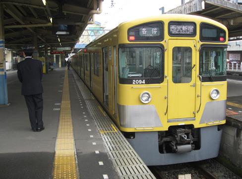 西武新宿線 田無駅2