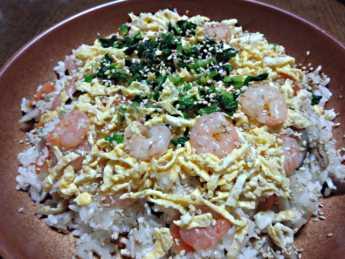 2014-3-5ちらし寿司