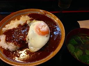 0625くま@チキンカツカレー目玉焼付750