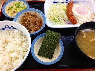 0724松屋@朝食04
