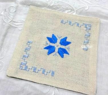 スペイン刺繍コースター