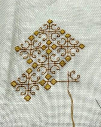 スペイン刺繍バッグ予定