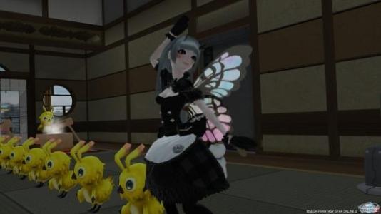 踊るガロン子゛