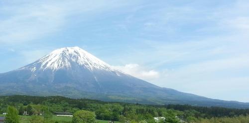 5月18日の富士山
