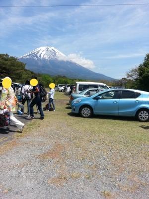 富士への道