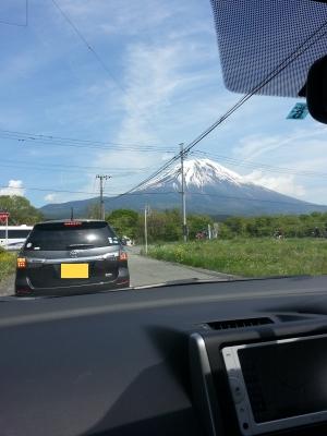 富士への道②