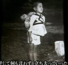 ◆焼場に立つ少年