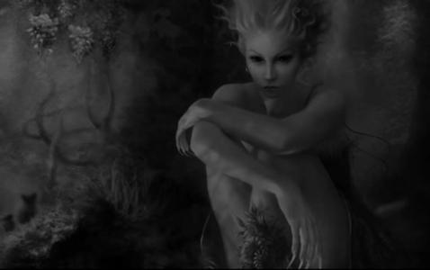 妖精と森の精霊