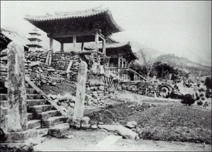 日本統治時代前の仏国寺