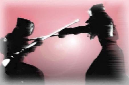 銃剣術の試合