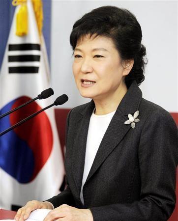 カツラの朴槿恵韓国大統領