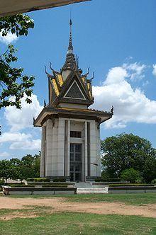 慰霊塔カンボジヤ