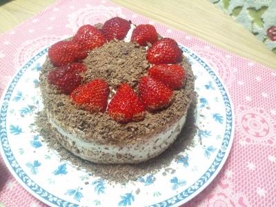 バースデーケーキ♪ (400x300)