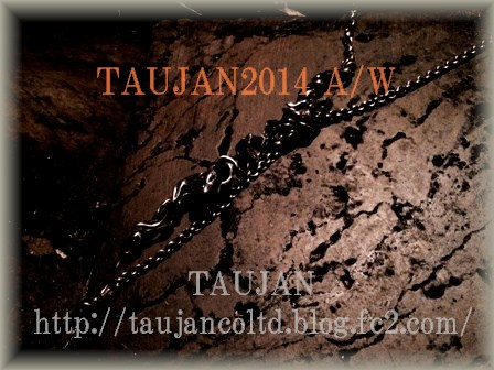 TAUJAN 新作 2014A/W