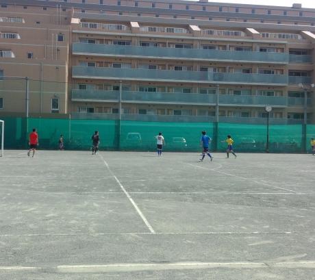 サッカー対決