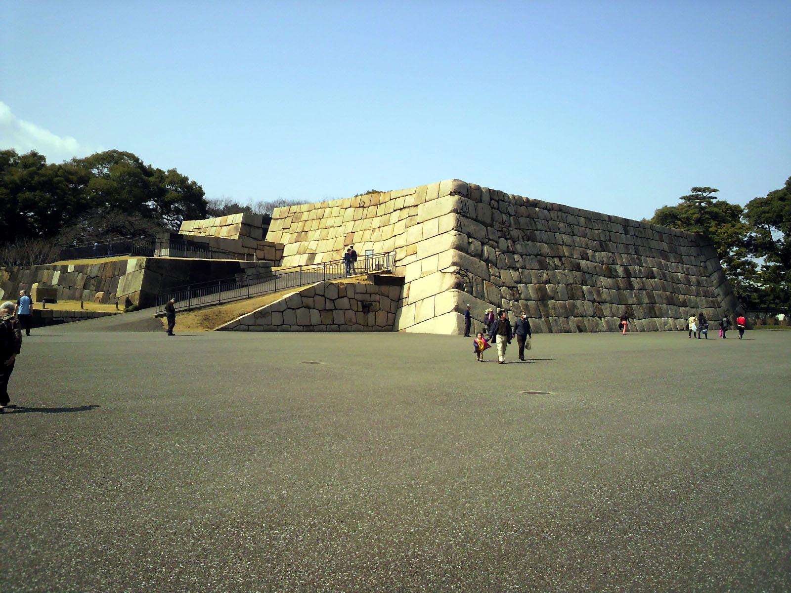 旧江戸城本丸天守台