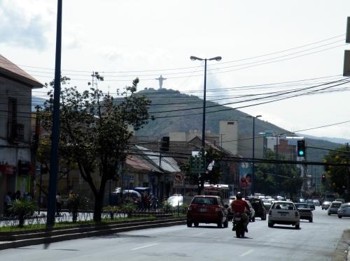 コチャバンバンの丘